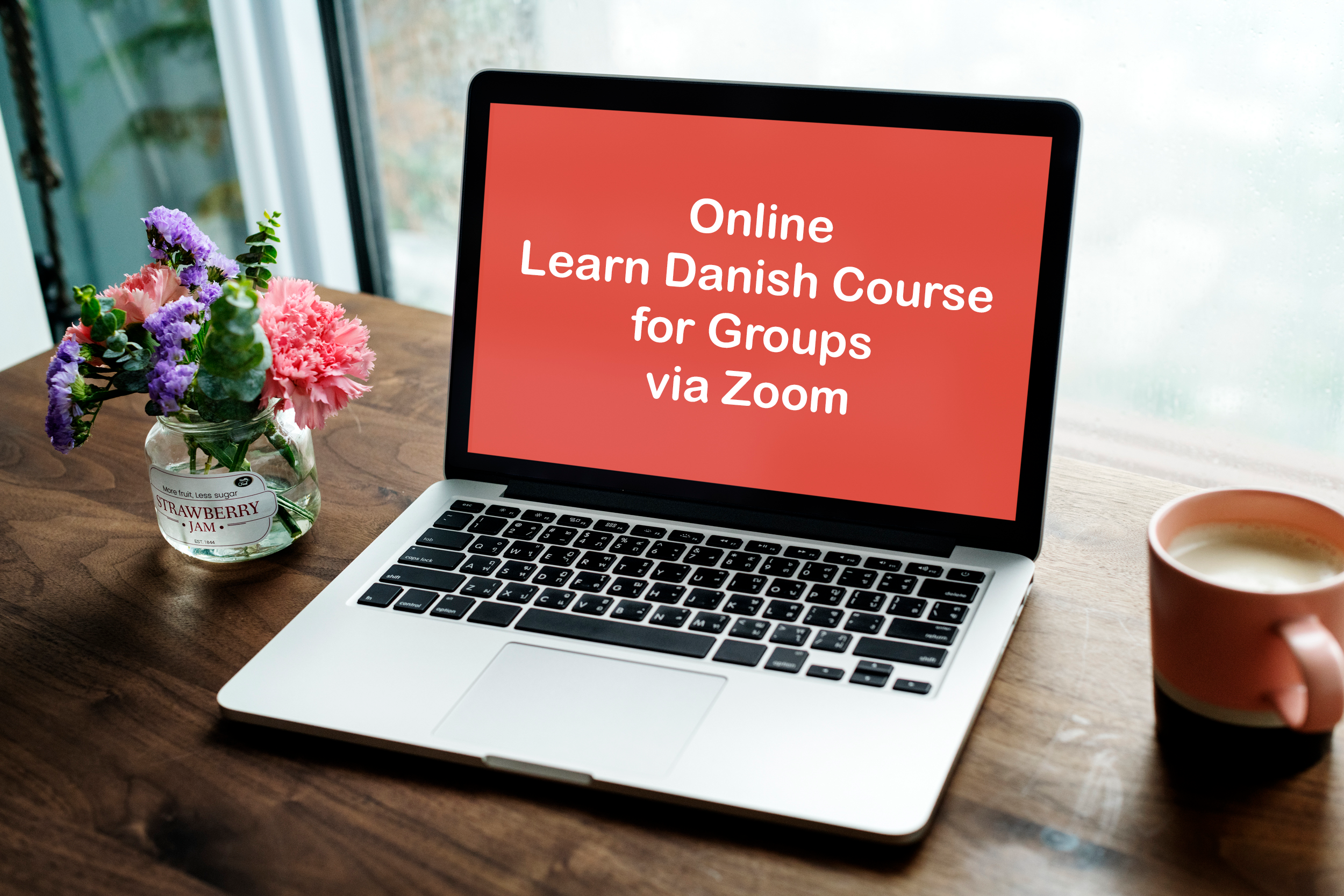 Online Danish Langauge Course for Groups