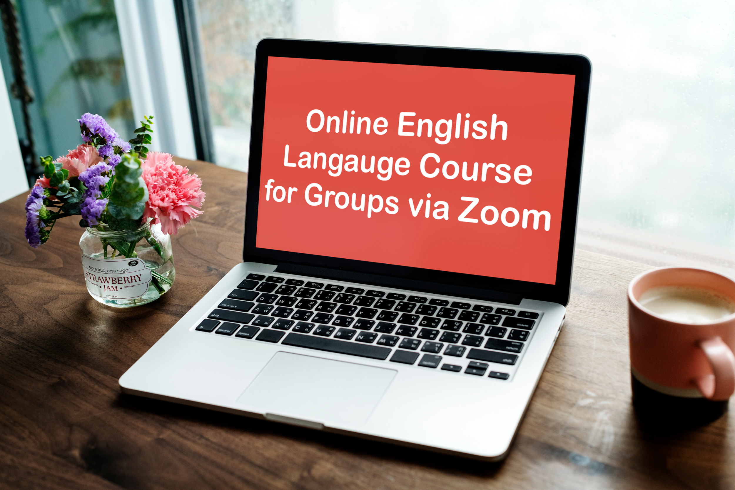 Online English Langauge Course for Groups